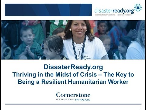 RECORDED WEBINAR: The Key to Being a Resilient Humanitarian Worker
