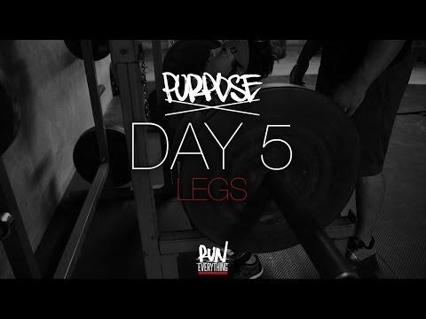 #RELPURPOSE   DAY 5   LEGS