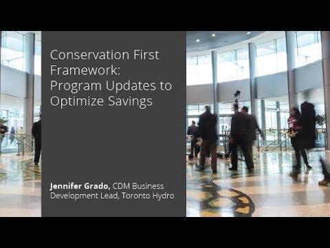 Conservation First Framework: Program Updates to Optimize Savings