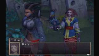 Arc the Lad: Twilight of the Spirits - Darc and Kharg clash