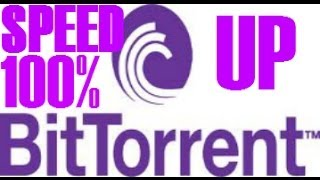 Repeat youtube video How to Speed Up Your BitTorrent 7.9.1 and Above Download Speed 100% WORKING