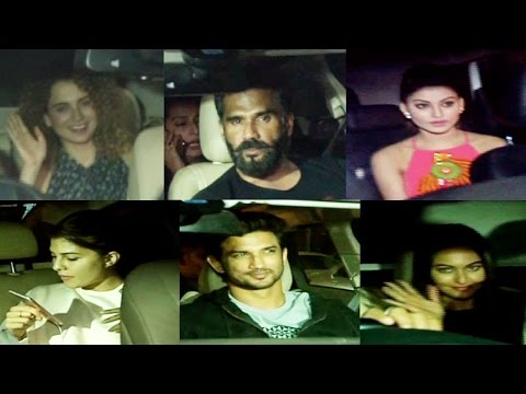 Top Bollywood Celebs Snapped At Rangoon Screening