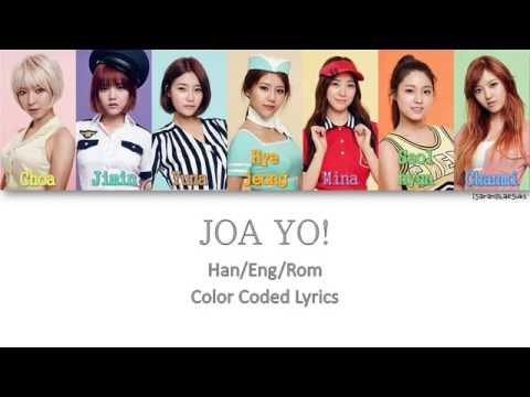 AOA - JOA YO! [Color Coded Han|Rom|Eng]