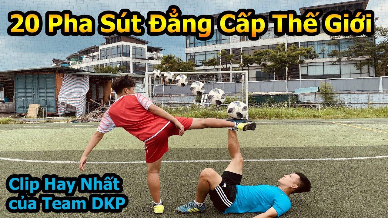 Thử Thách Bóng Đá 20 pha sút xà ngang đẳng cấp thế giới Đỗ Kim Phúc Ft Duy Trung , Việt Anh Cr7