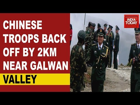 India China Standoff: Chinese Troops Back Off By 2 KM; Slight Retreat At Galwan Valley