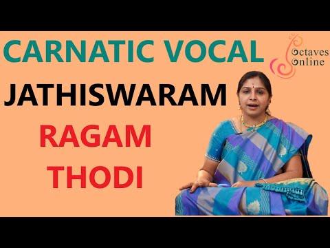 Jathiswaram : Todi Raagam (Learning Mode)