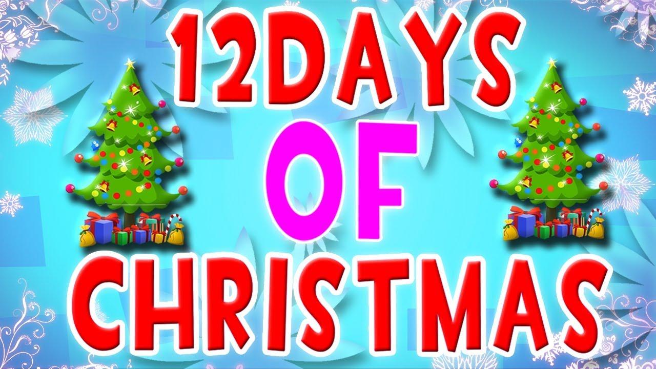 zwölf tage weihnachten | Lied für Kinder | Twelve Days Of Christmas ...