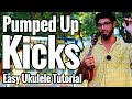 Pumped Up Kicks Ukulele Tutorial Picking Fingerstyle Riff Easy Play Along mp3