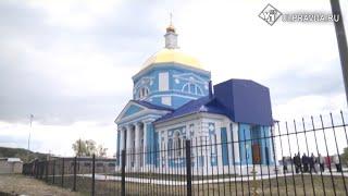В Николаевском районе восстанавливают уникальный храм Владимирской иконы Божией Матери