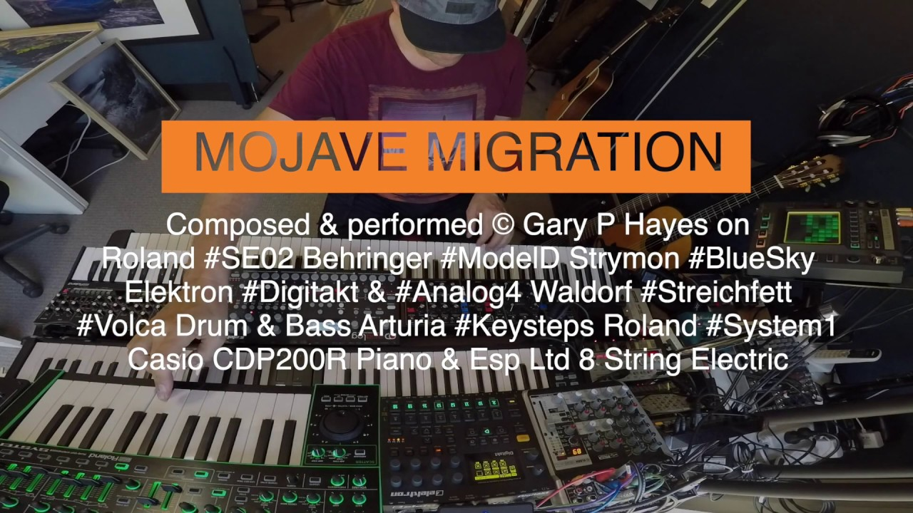 MOJAVE MIGRATION: Impro Analog Synth Stories - YouTube