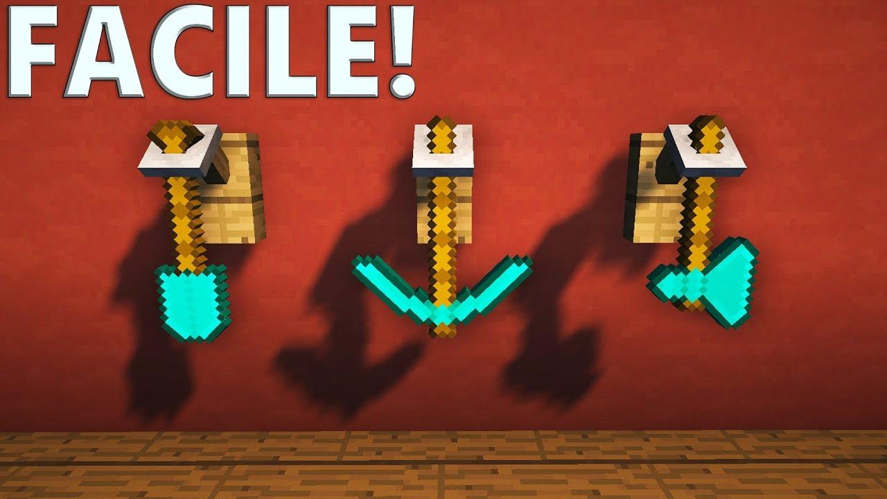 Tuto Porte Outils Ultra Realiste Minecraft Youtube