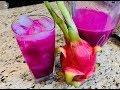 Agua Fresca de Pitaya 🔴 Fruta Dragón 🐉 desde Merced California