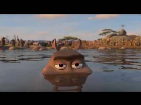 Que popotao grandão versão Madagascar