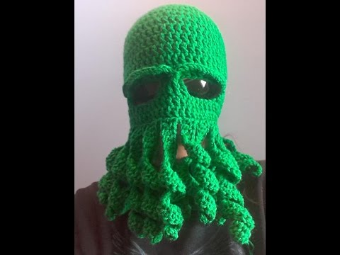 Crochet Octopus Mask