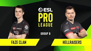 CS:GO - FaZe Clan vs. HellRaisers [Overpass] Map 1 - Group B - ESL EU Pro League Season 10