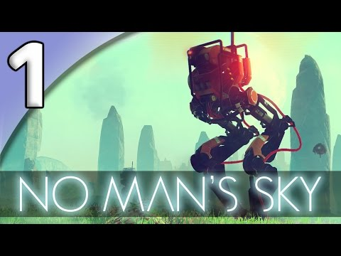 No Man's Sky *PC* - 1. Crash-landed - Let's Play No Man's Sky Gameplay