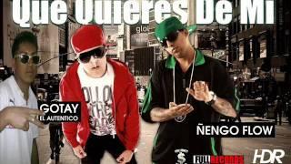 ***Dj Moreno Mix Que Quieres De Mi ñengo Flow feat Gotay El Auntentico***