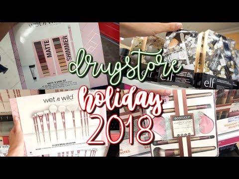 DRUGSTORE MAKEUP HOLIDAY 2018 SHOP WITH ME!!! ULTA BEAUTY, RITE AID, WALGREENS