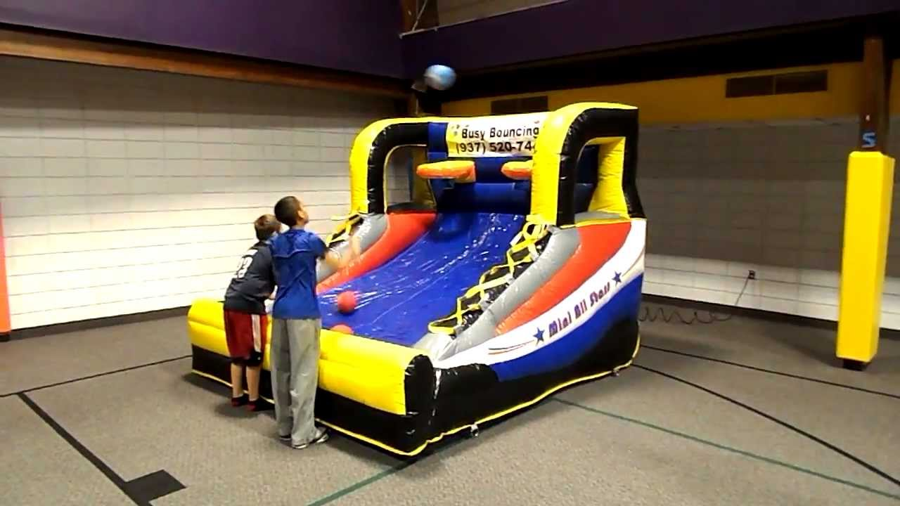 Busy Bouncing Mini All Stars Pop -A- Shot Game - YouTube