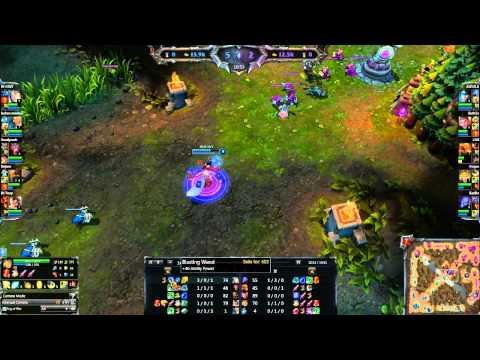 [HD009] League of legends random game PETAGE DE CABLES !!!