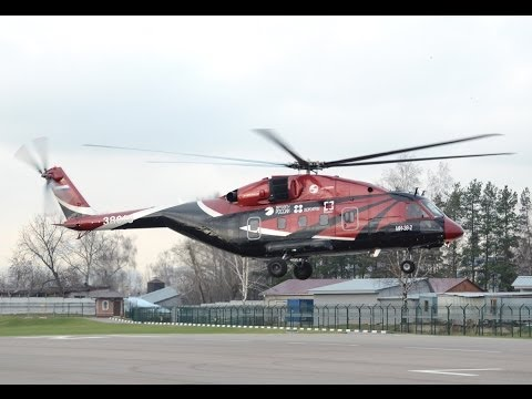 Russian Helicopters - Mi-38 Multi-Role Helicopter 3rd Prototype First Flight [1080p]