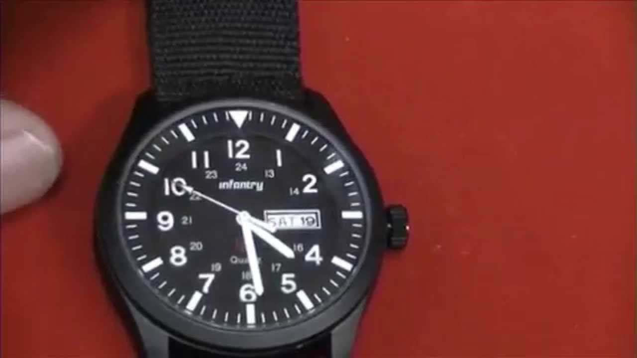 Infantry Military Day/Date Watch - Review