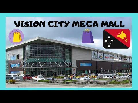 PAPUA NEW GUINEA, the SHOPPING MALL of VISION CITY (PORT MORESBY)