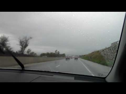 Driving on Interstate 83 in the Rain - 10/21/16