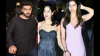 Janhvi khushi have found big brother Arjun support