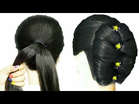 New stylish hairstyle for girls