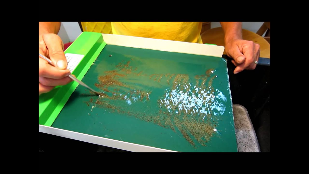 Martin Prospecting Gold Clean Up Table Youtube