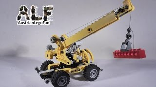 Lego Technic 8270 Rough Terrain Crane / Mini Geländekran - Lego Speed Build Review
