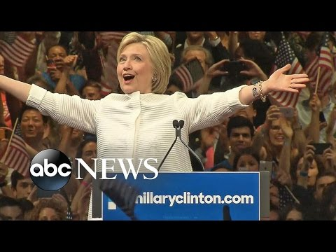 Clinton Makes History as First Female Presidential Nominee for Major Party