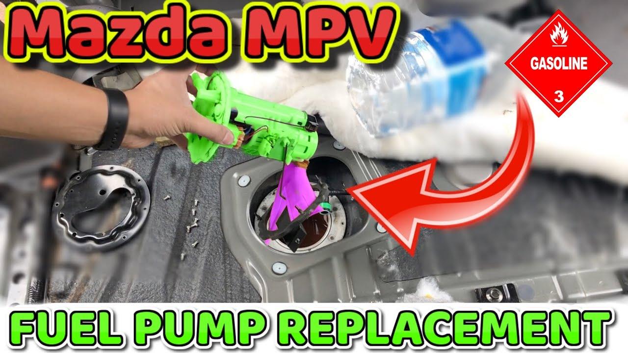 [SCHEMATICS_4LK]  Mazda MPV fuel pump removal 2000 - 2006 - YouTube | Mazda Mpv Fuel Filter Location |  | YouTube