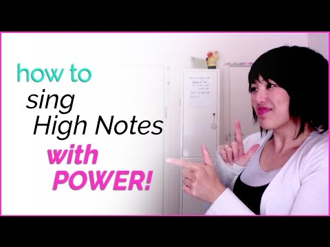 How to sing high notes with power! - Vocal Techniques - YouTube