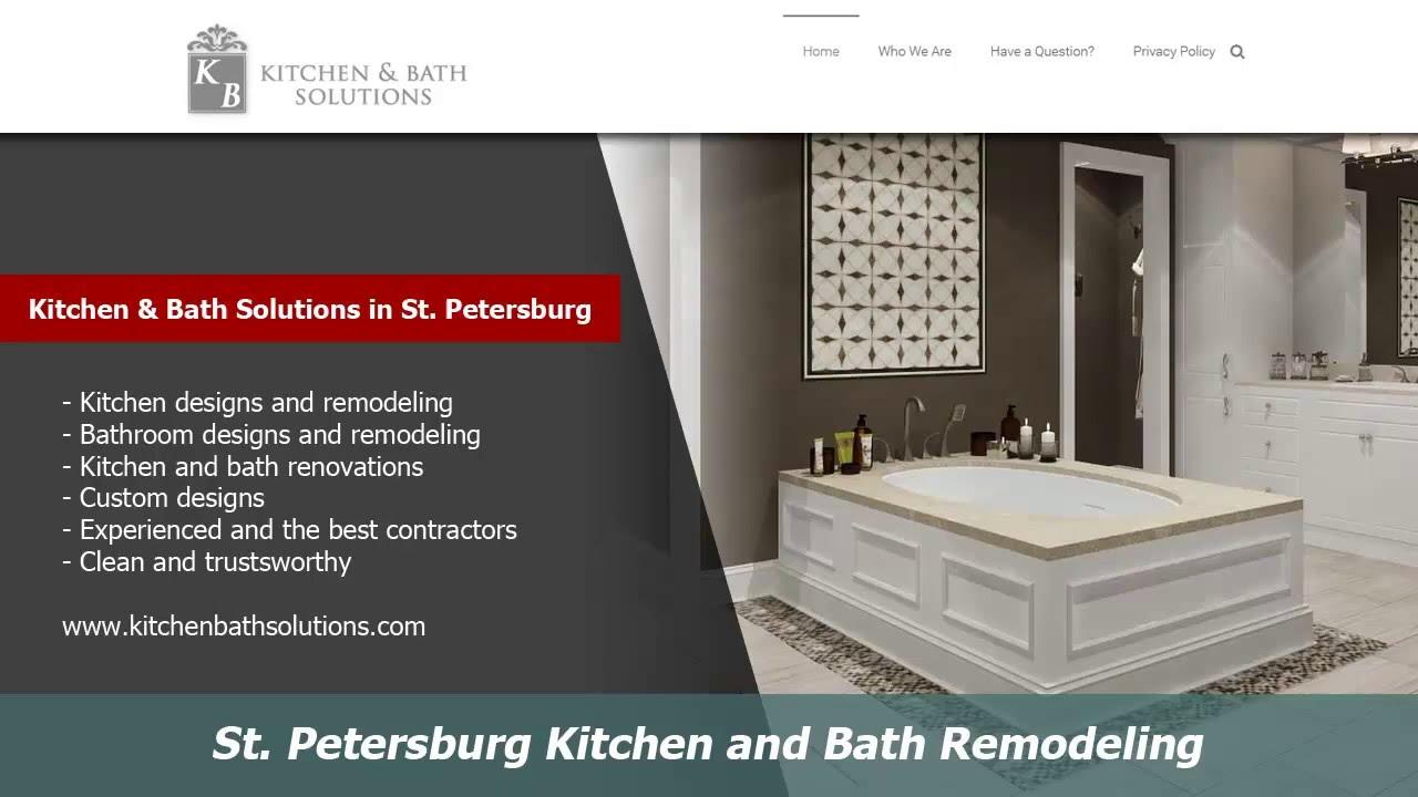 St Petersburg Kitchen and Bath Remodelers :: Kitchen Bath Solutions ...