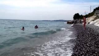 Белые скалы,Цанрыпш, Абхазия,август,2015,туризм(Это видео создано с помощью видеоредактора YouTube (http://www.youtube.com/editor), 2015-09-04T15:18:08.000Z)