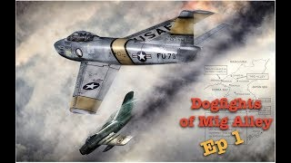 Dogfights of Mig Alley Episode 1 - The Mig15bis | Mig Alley Game Play
