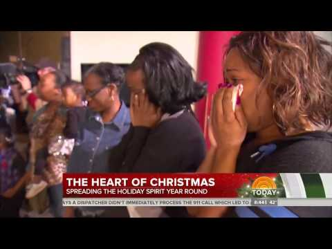 Getting to the Heart of Christmas at The Empowerment Plan in Detroit, Michigan with The TODAY Show