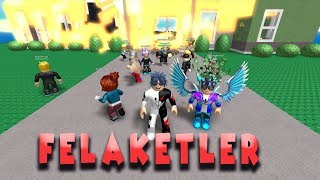 DISASTERS KNOCKED on the DOOR! /ROBLOX ENGLISH/PRACTICAL GAME