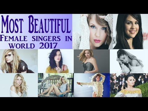 Top 10 Most Beautiful Female Singers in the world