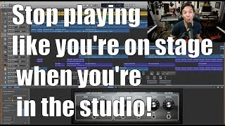 How to Produce Professional Sounding Guitar Tracks