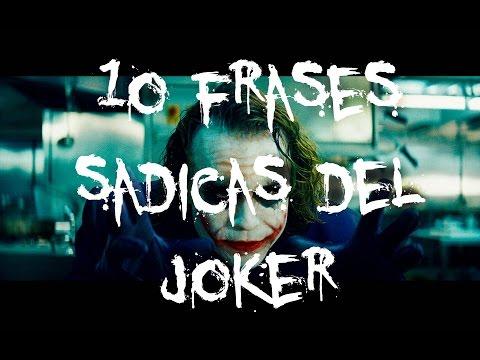 Las 10 Frases más Sádicas del Joker | La Psicología del Joker