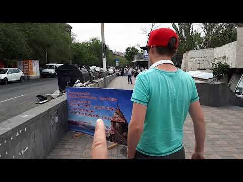 Отдых в Армении.  День 6-ой. Дорога в Ереван. Метро. Площадь Республики.