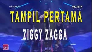 Ziggy Zagga Gen Halilintar  Tampil Pertama