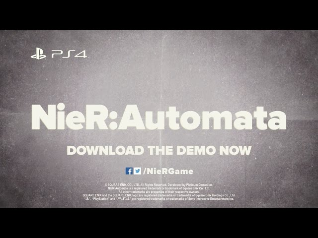 NieR: Automata - Iconic Crossover Weapons Trailer