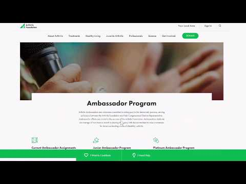 Advocacy Web Page Tutorial Video