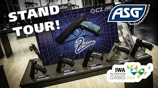 ASG at IWA 2019 - Booth Overview