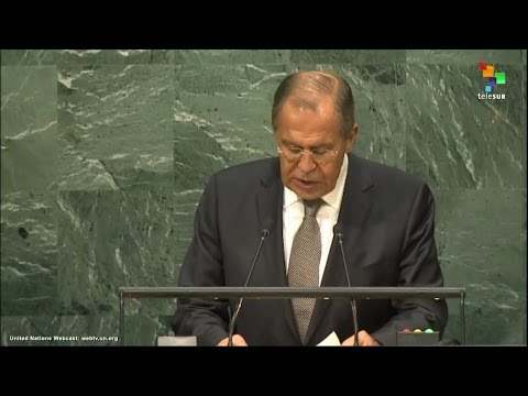 UN Speeches: Sergey Lavrov, Minister for Foreign Affairs of the Russian Federation,