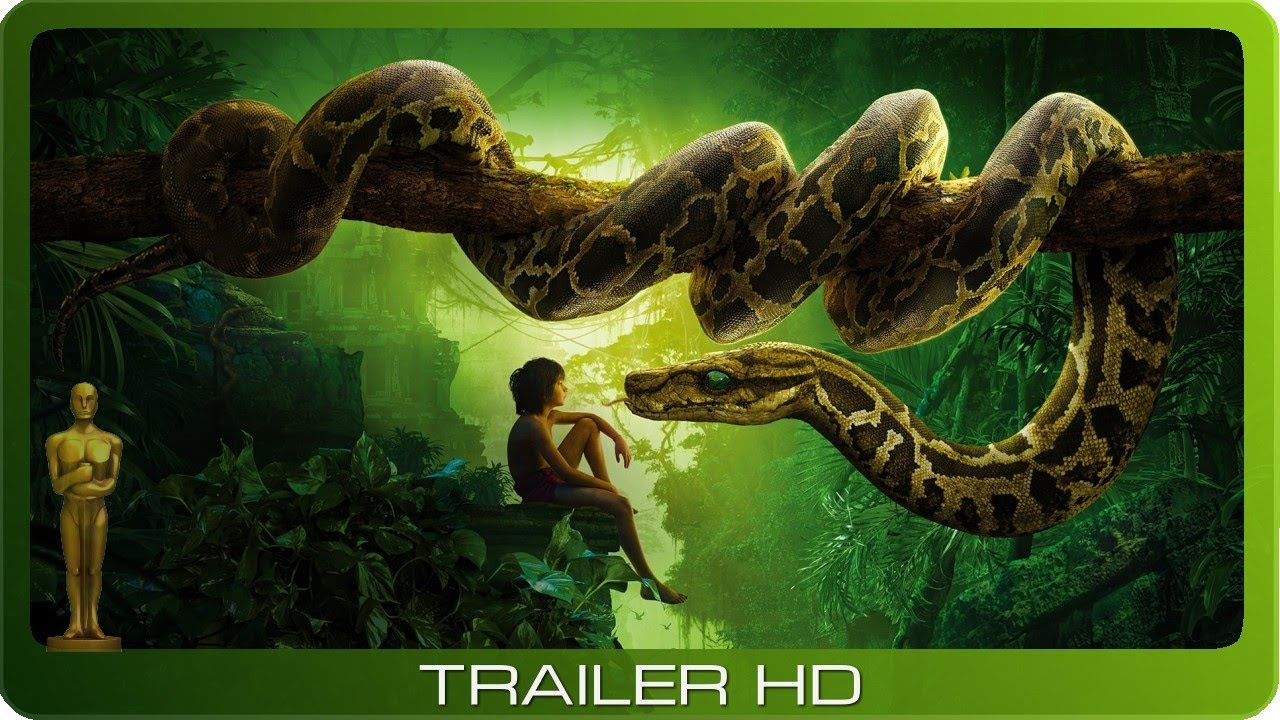 The Jungle Book ≣ 2016 ≣ Trailer ≣ German | Deutsch